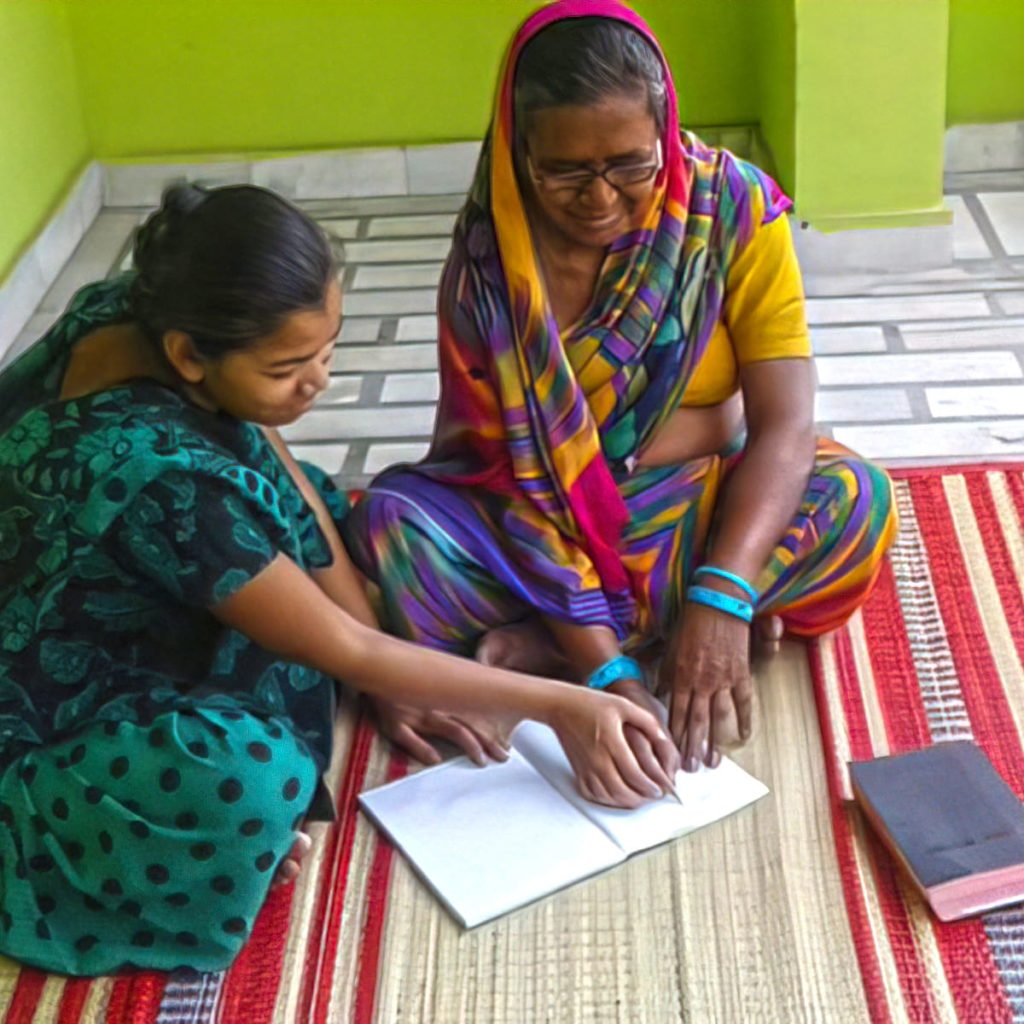 No longer held back by illiteracy, Jeni now reads her Bible for herself and can grow in her knowledge of God's Word.